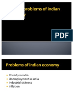 Current Problems of Indian Economy