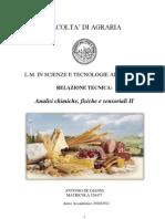 Relazione Analisi Chimiche, Fisiche e Sensoriali 2 - Copia