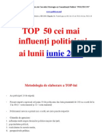 50 Top Politics June
