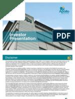 Apollo Hospitals Investor Presentation June2011