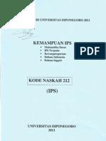 Um Undip 2011 Kode 212