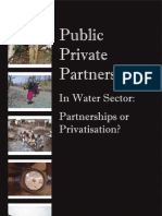 PPPs_In_Water_Sector - Participation or Privatisation