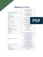 Especificaciones técnicas mack 1