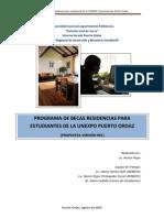 programa residencias