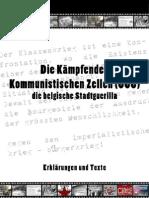 Die Kämpfenden Kommunistischen Zellen (CCC) - Erklärungen und Texte
