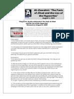 The Facts of Jihad and Lies of Hypocrites - Al Zawahri