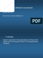 Clinical Trial Recruitment Strategy