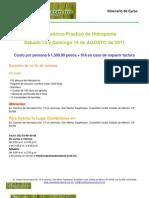 Curso de Hidroponia Agosto 2011