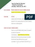 Script Harlem Event
