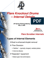 Attachment 8 - Flare Knockout Drum Internals