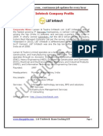 L&T Infotech Placement Papers