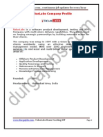 Value Labs Placement Papers