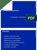 Fundamentals of ReqPro