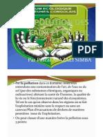 EXPOSEE SUR L'IMPACT DE LA POLLUTION AU KATANGA