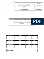 Formato de Documentacion ALMACEN