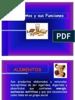 1. Presentacion Alimentos y Su Funcion