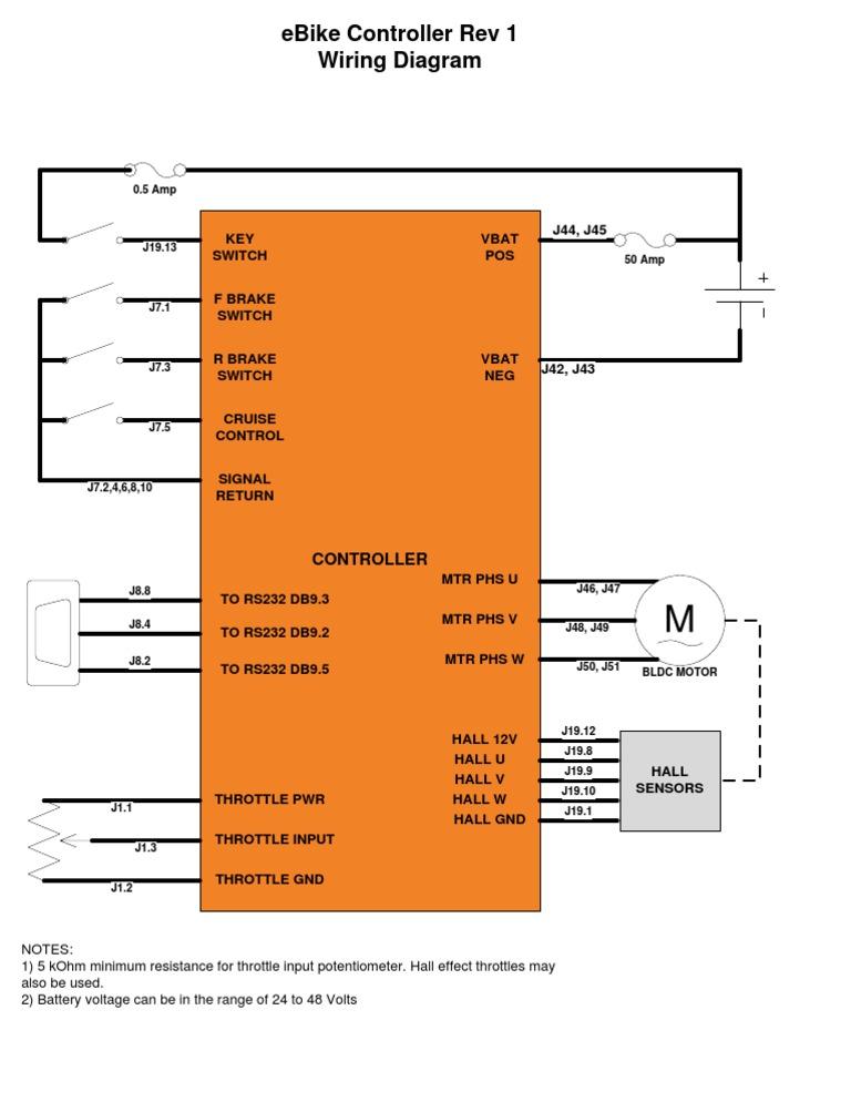 Ebike Wiring Diagram on