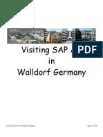 Visiting Sap AG Walldorf