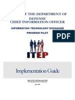 Itep Pilot Implementation Guide 2june 2011 Final