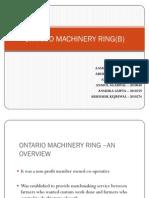 Ontario Machinery Ring(b)