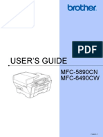 Brothers MFC6490W User's Guide