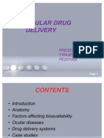 Ocular Drug Delivery Final
