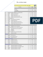 Course Schedule FY07-08 by En