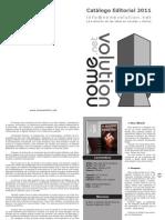 Nowevolution catálogo gráfico JUNIO 2011