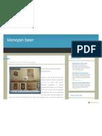 Klonopin Beer Information
