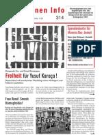 Gefangenen Info #314