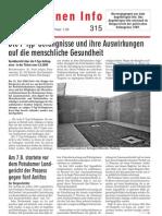 Gefangenen Info #315