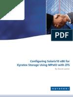 273TIP107 Configuring Solaris10 x86 for Xyratex Storage 1-0