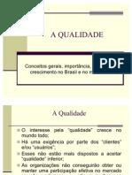A Qualidade(Parte1)