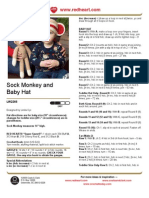 Baby Monkey Hat