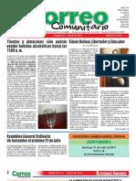 Correo Comunitario Julio 2011 Ed. 49