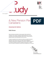 IRPP Study - A New Pension Plan for Canadians