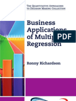 Business Applications of Multiple Regression