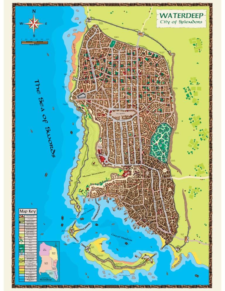 copy of d d 3 5 forgotten realms waterdeep map street road