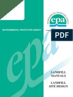 Epa Landfill Site Design