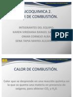 CALOR DE COMBUSTIÓN