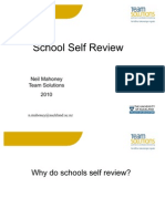 School Self Review Power Point