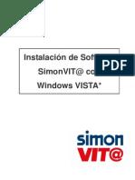 Instalación Software SimonVIT@ con Windows VISTA