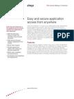 Citrix Access Gateway Datasheet[1]