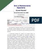 Sobre a Democracia Operária - Mandel