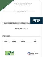 Caderno de Registro_ 2-¦ Tempo Formativo
