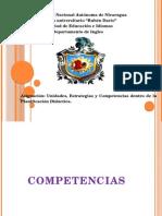 Didactica Competencias Estrategias y Unidades Que Comforman La Planificacion Didactic A.