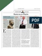X. Batalla. Rusia No Es Plutón