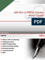 Fujitsu COE Milk Run
