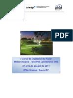 Curso de Radar IpMet Bauru Completo