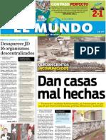 Portada El Mundo de Córdoba, 5 de julio de 2011